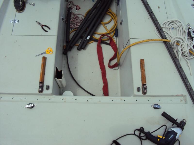 Harken windward sheeting installation - J/30 Class Association
