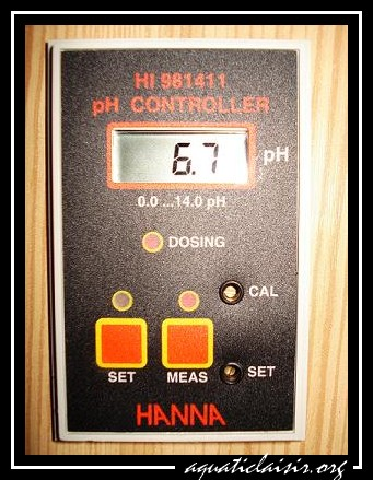 pH mètre controleur Hanna
