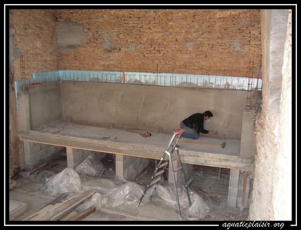 Construction du 12000 l de j noel for Construction aquarium