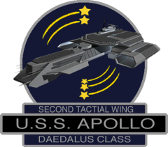 Commandant du USS Apollo