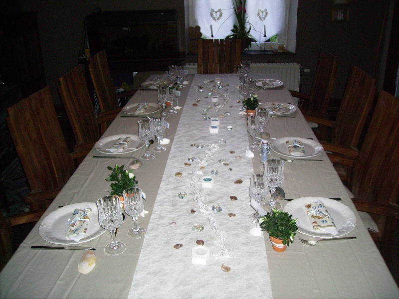 Voici ma table de communion - Idee decoration de table pour communion fille ...