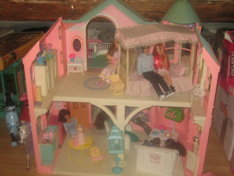 Barbie street - Maison de reve de barbie ...