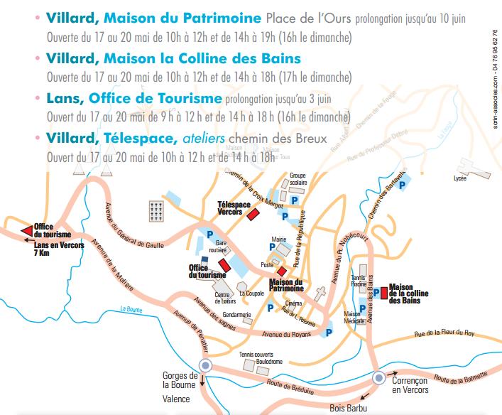 3ème Focales en Vercors à Villard-de-Lans et à Lans-en-Vercors