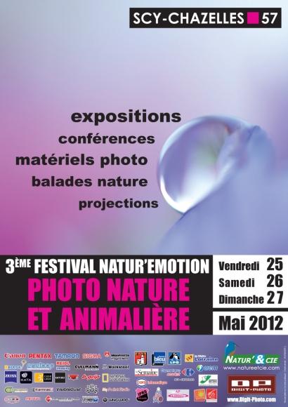 3ème festival photo Natur'Emotion à Scy-Chazelles par Natur'&Cie