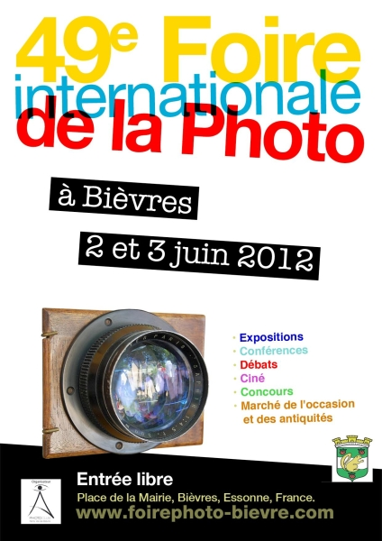 49ème Foire Internationale à la Photo de Bièvres