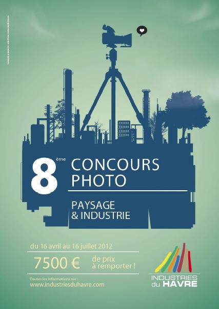 8ème Concours photo des Industries du Havre Paysage et Industrie