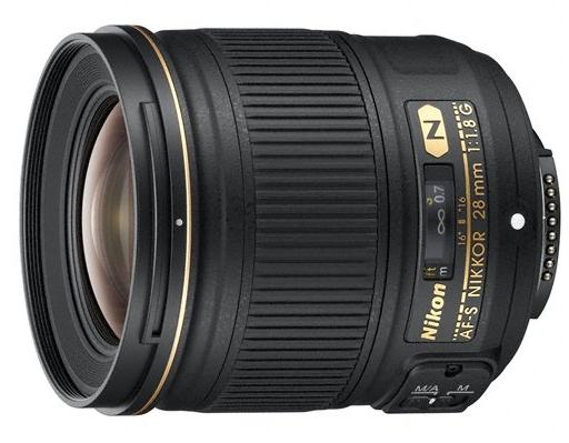 Le nouvel objectif de Nikon, l'AF-S Nikkor 28mm f/1.8G