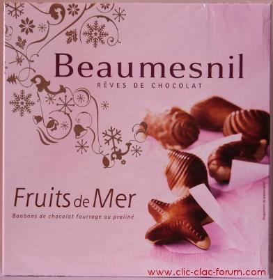 Une boîte de chocolats Beaumesnil, Rêves de chocolat pour le gagnant du 1er Rallye photo Clic-Clac spécial Pâques 2012