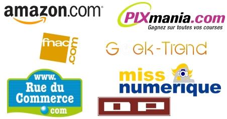Sur quel site achetez-vous votre matériel photo sur internet ?