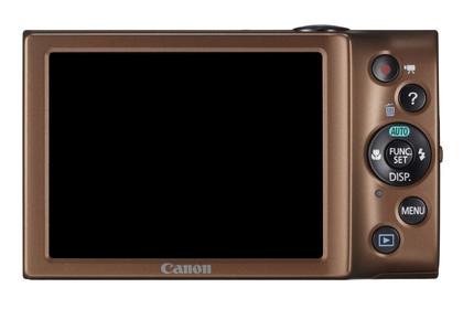 Canon PowerShot A2300 marron de dos