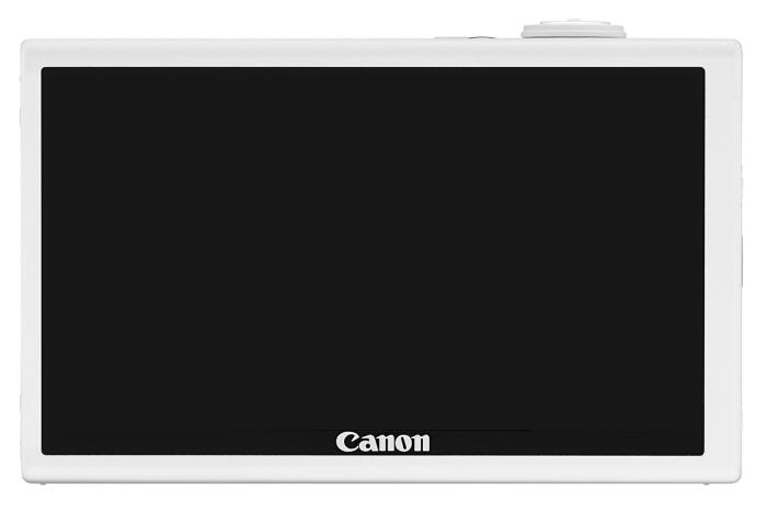 Canon IXUS 510 HS blanc de dos