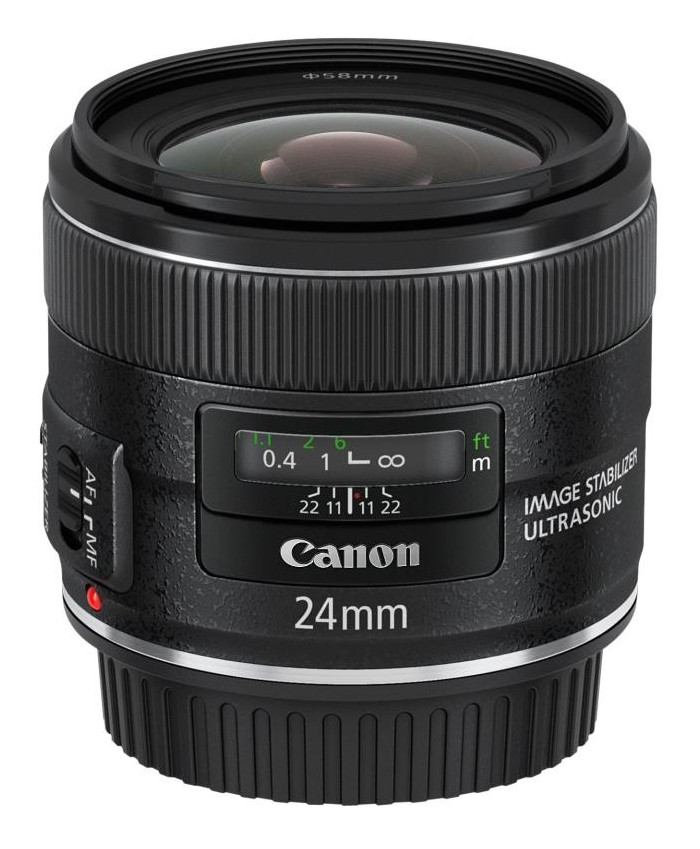 Nouveaux objectifs de la série EF pour Canon avec l'EF 24mm f/2,8 IS USM