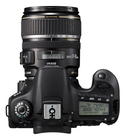 Canon EOS 60Da de haut