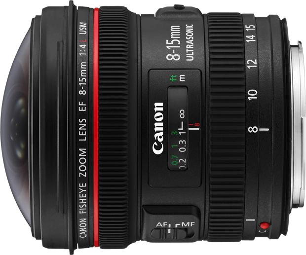 Canon EF 8-15mm f/4L Fisheye USM TIPA Awards 2012 Meilleur objectif pour reflex professionnel