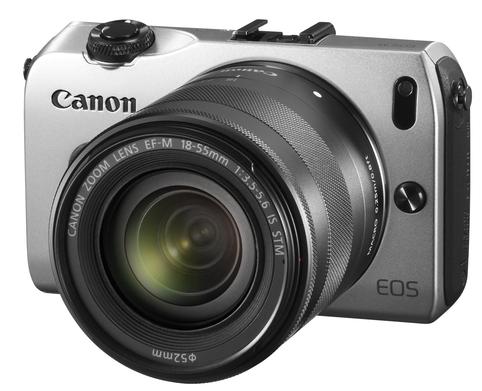 Canon EF-M 18-55mm f/3.5-5.6 IS STM sur Canon EOS M