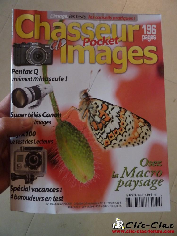 Chasseur d'Images n°336 Août-Septembre 2011