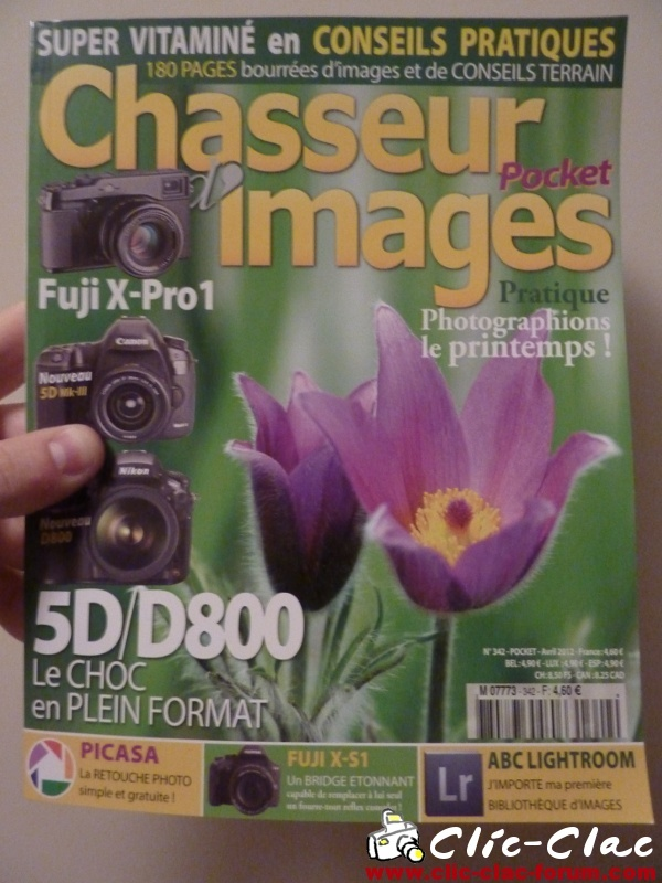 Chasseur d'Images n°342 Avril 2012