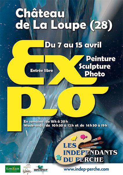 Expo 2012 des Indépendants du Perche au Château de La Loupe