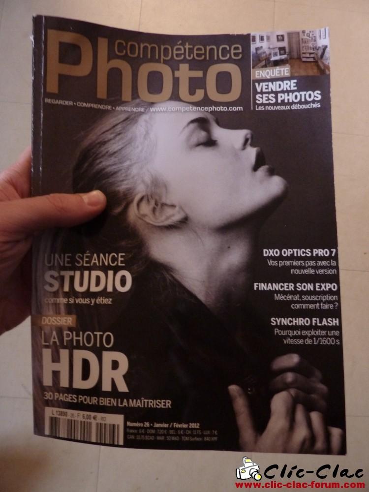 Numéro 26, dernier magazine de Compétence Photo La photo HDR - la séance studio