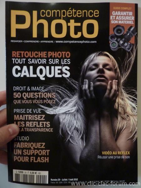 Compétence Photo n°29 de Juillet/Août 2012 La gestion des calques - Reflets et transparence - Garanties et assurances