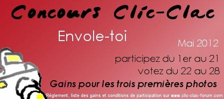Concours photo Clic-Clac du forum photo Clic-Clac de Mai 2012, sur le thème Envole-toi