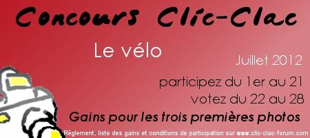 Concours photo Clic-Clac de Juillet 2012, Le vélo du forum photo Clic-Clac