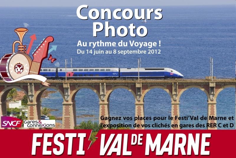 Concours photo SNCF et Festi'Val de Marne - Au rythme du Voyage