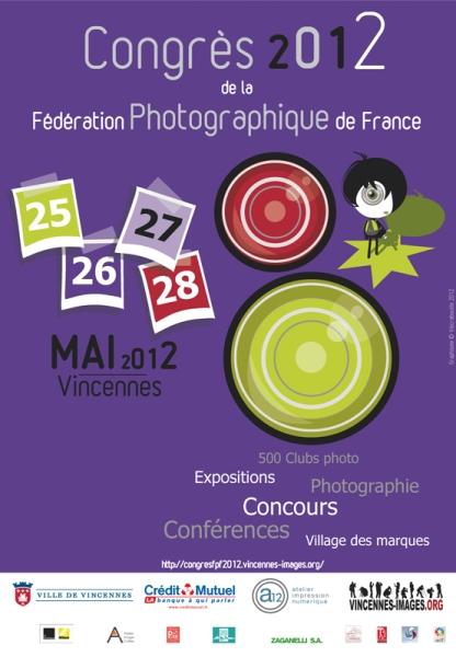 Congrès 2012 de la Fédération Photographique de France à Vincennes