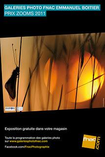 évènement photo Prix Zooms 2011 d'Emmanuel Boitier à la galerie Fnac Montparnasse Salon André Essel