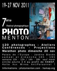 7ème Festival de la Photographie de Menton 2011