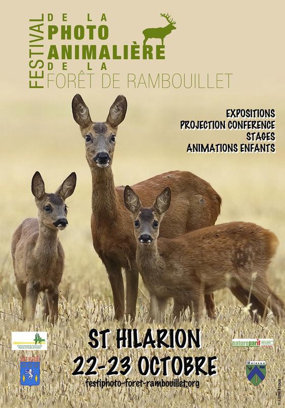 1er Festival de la photo animalière de la forêt de Rambouillet de Saint Hilarion
