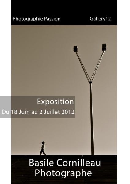 Basile Cornilleau à la Gallery12 de Photographie Passion