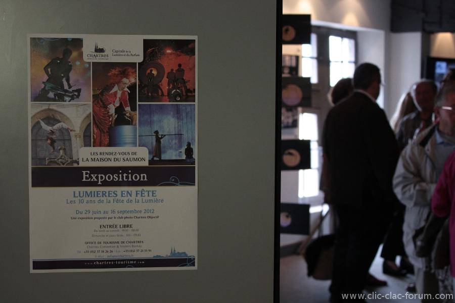 Retour sur l'inauguration de l'exposition Lumières en Fête, les 10 ans de la Fête de la Lumière à Chartres par Chartres Objectif