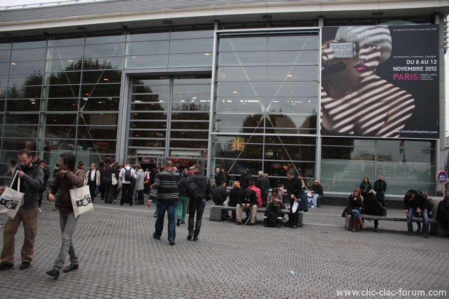 Une journée au Salon de la Photo 2012