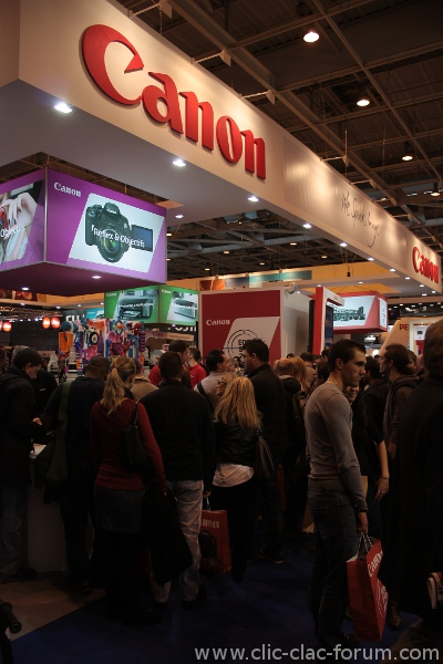 Stand Canon au Salon de la Photo 2012