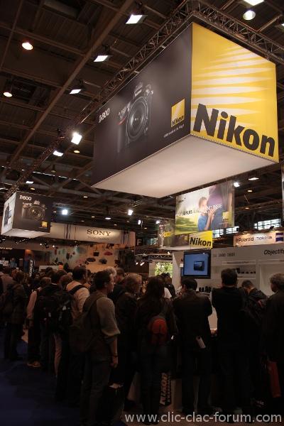 Stand Nikon au Salon de la Photo 2012