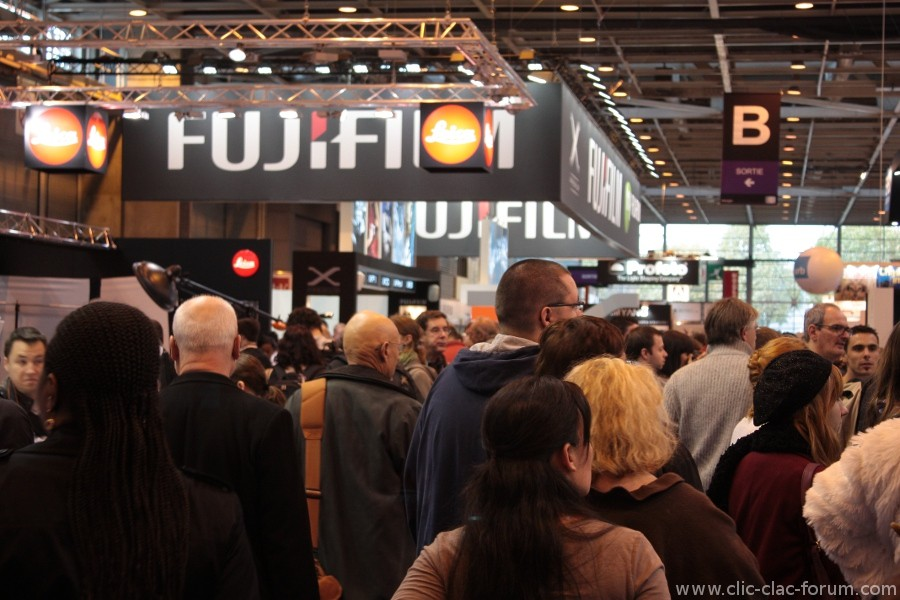 Stand Fujifilm au Salon de la Photo 2012
