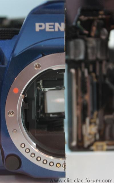Pentax K-5 II découpé au laser au Salon de la Photo 2012