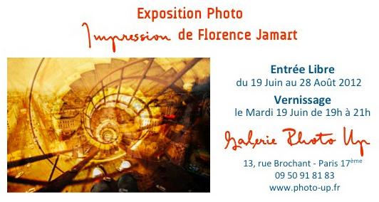 Impression de Florence Jamart à la Galerie Photo Up de Paris