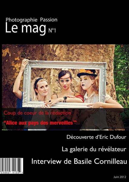 Photographie Passion Le mag n°1, nouveau webzine photo