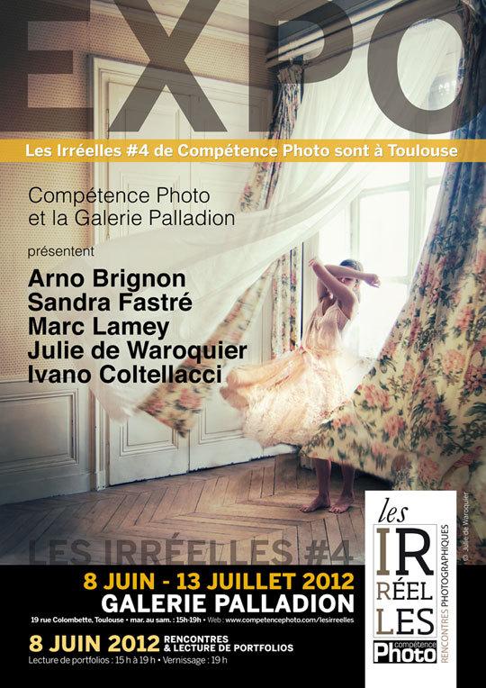 Julie de Waroquier signe l'affiche Les Irréelles #4 de Compétence Photo de Toulouse