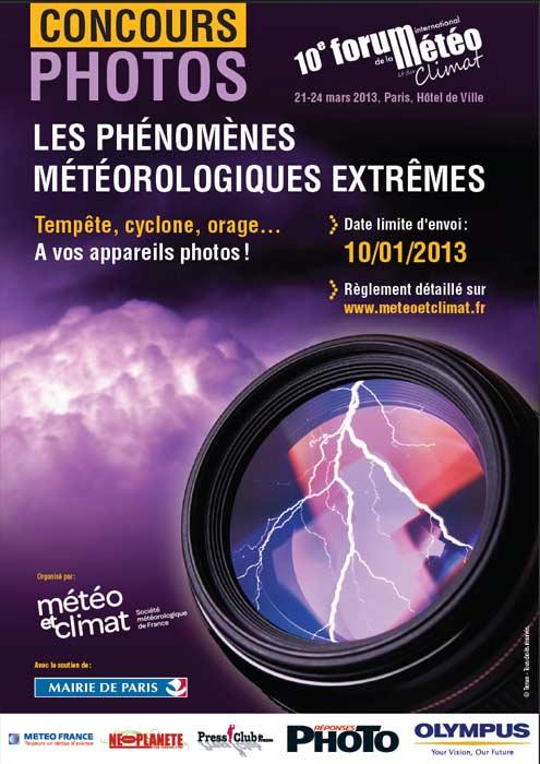 Les phénomènes météorologiques extrêmes de SMF-Météo et Climat
