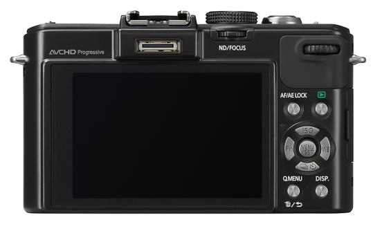 Panasonic Lumix DMC-LX7 de dos