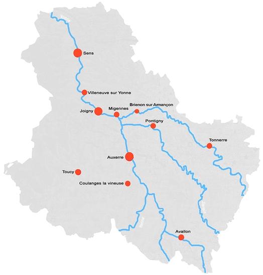 plan Mois de la photo dans l'Yonne 2012