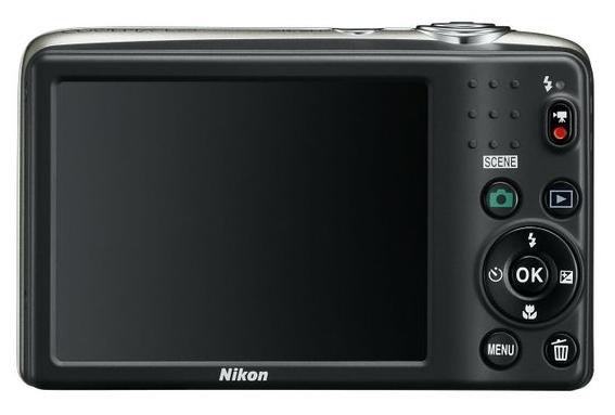 Nikon Coolpix L25 noir de dos