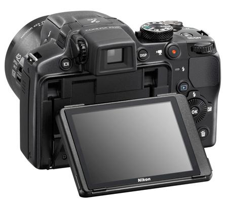 Nikon Coolpix P510 noir de dos