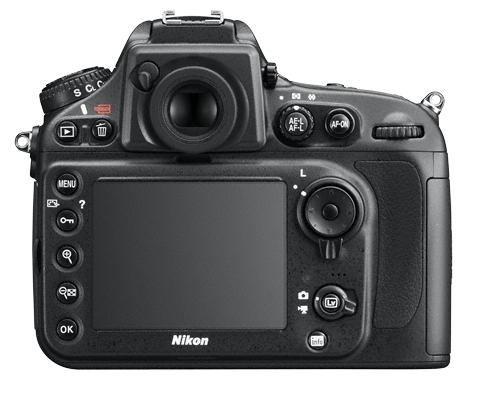 Nikon D800E de dos