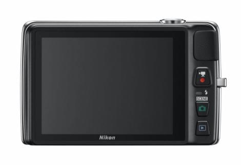 Nikon Coolpix S4300 noir de dos