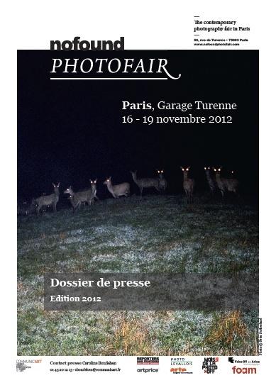 nofound photo fair 2012 à Paris