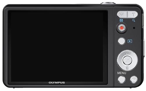 Olympus Smart VG-160 noir de dos